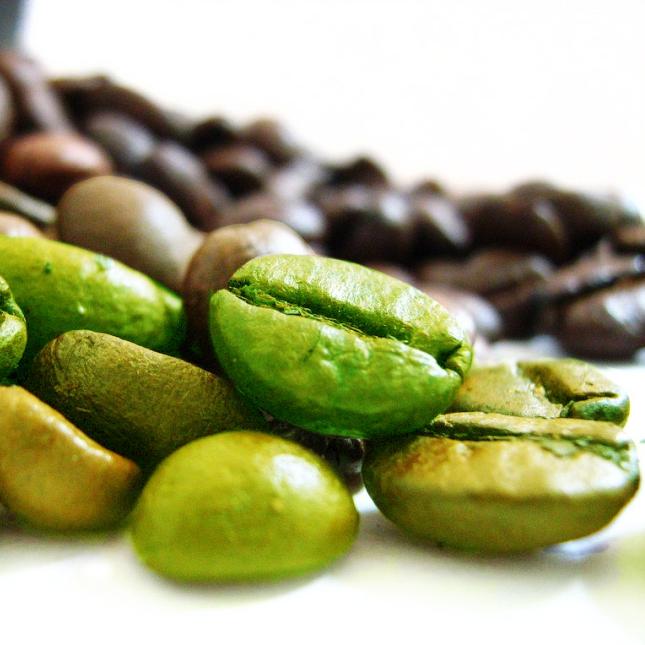 קפה ירוק מכיל נוגדי חימצון