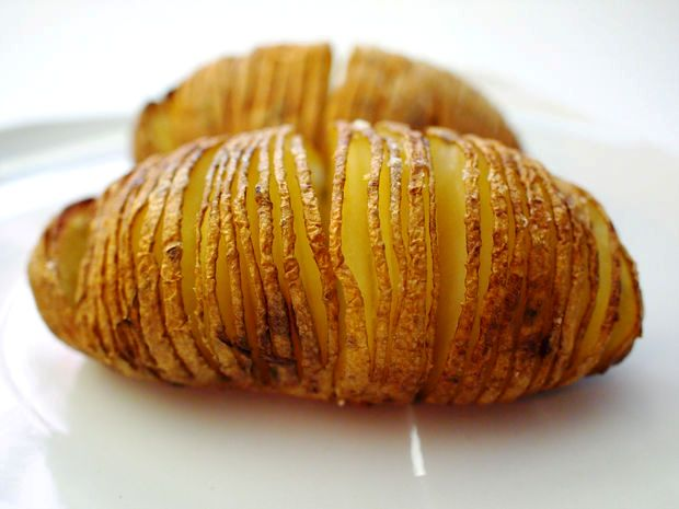 תפוח אדמה אפוי עשיר באשלגן ומגנזיום