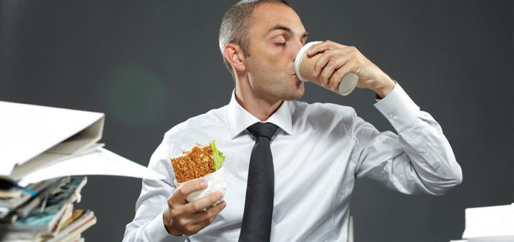 ארוחות שחיתות בלילה אחרי העבודה